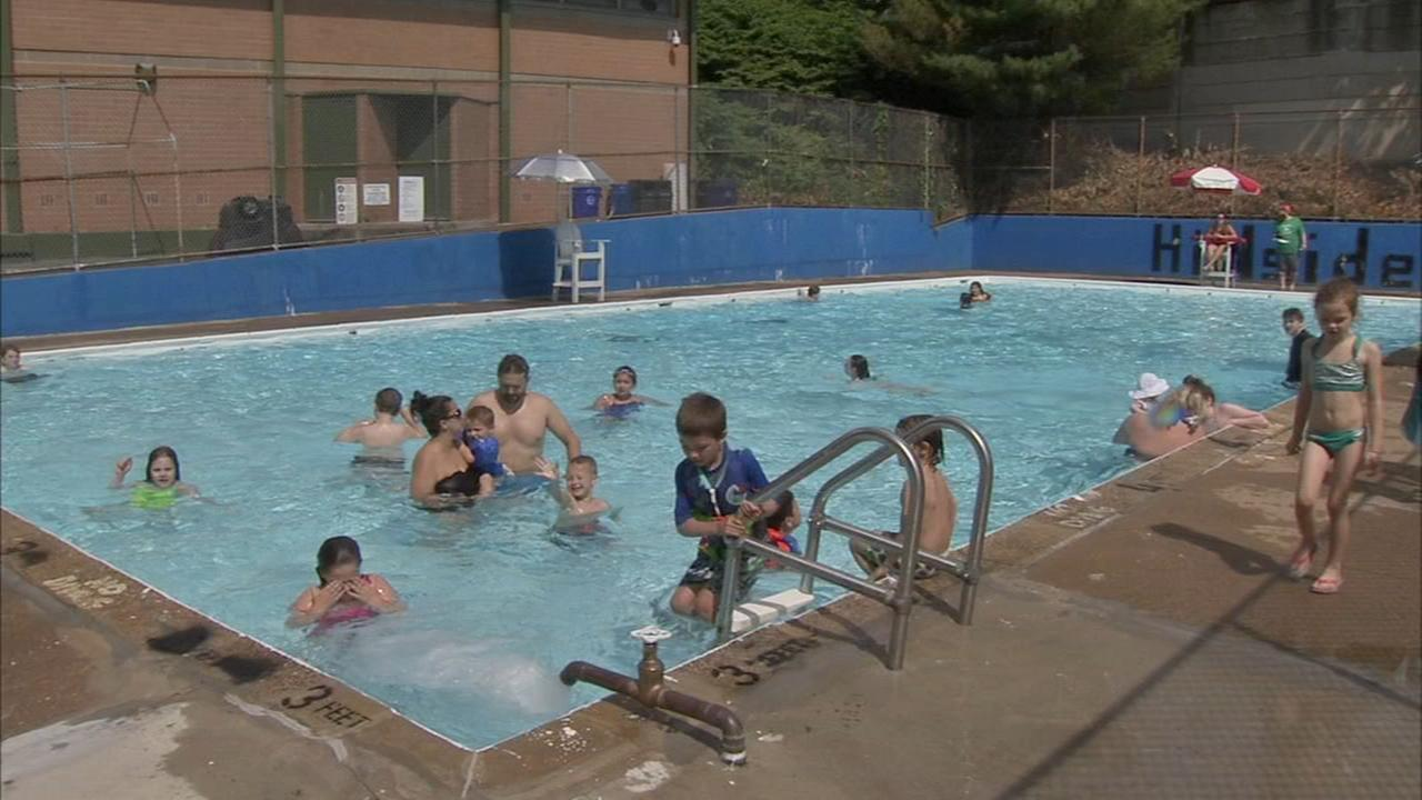 Philly pools on free swim schedule due to heat