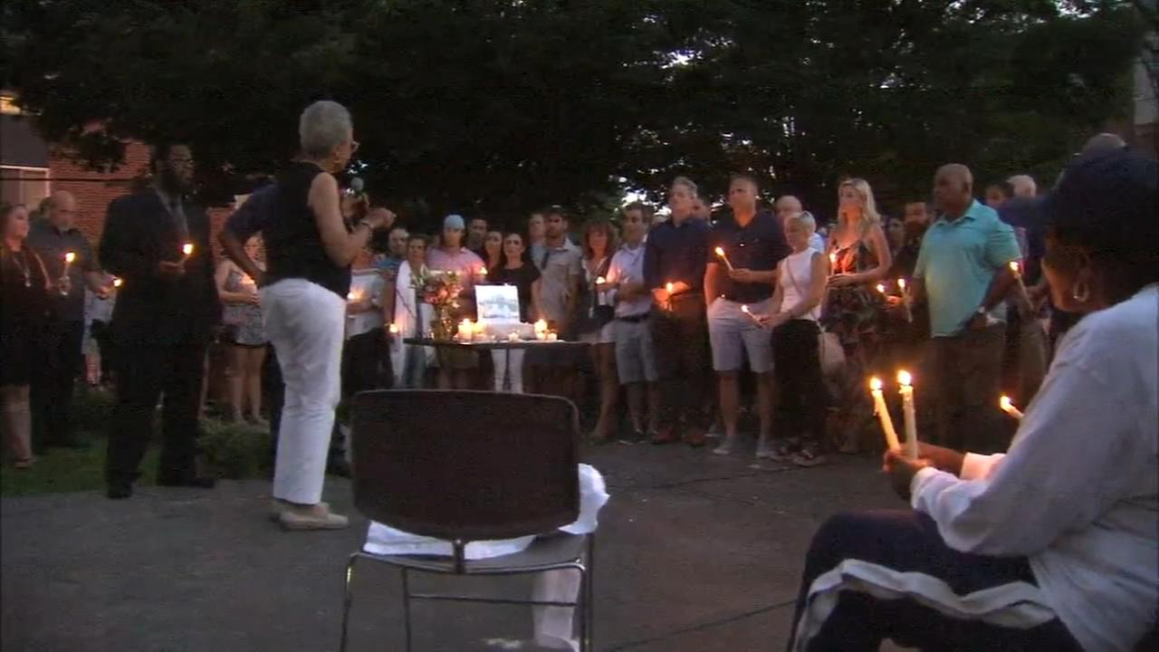 Second vigil for slain real estate developer