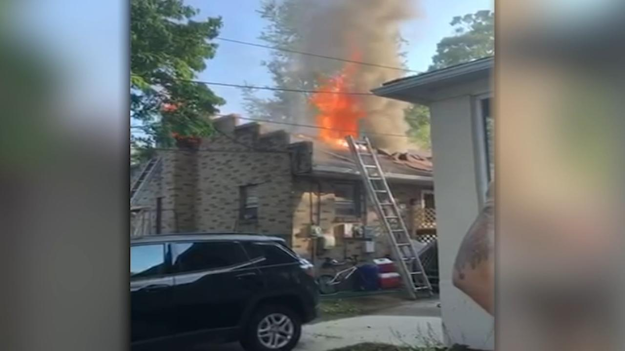 4 displaced in Collingswood fire