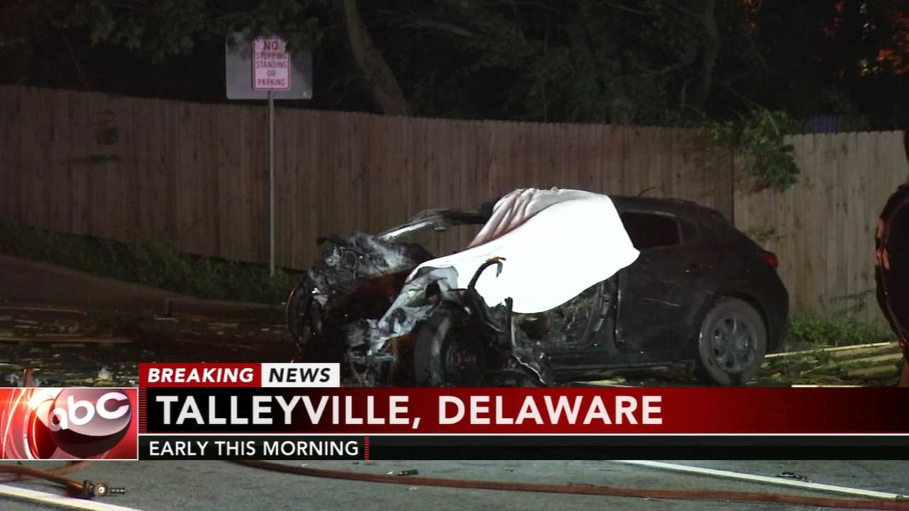 1 killed in fiery Talleyville crash