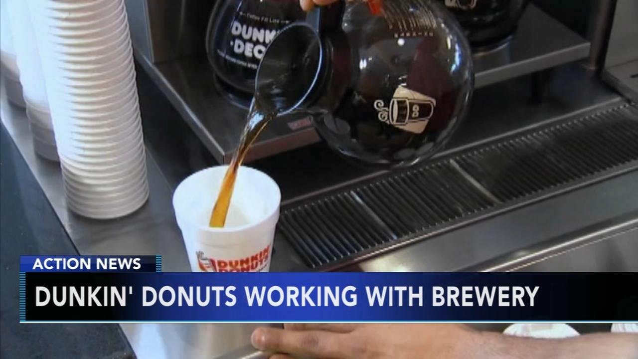 Dunkin Donuts working with brewery