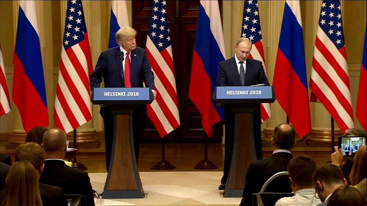 Trump questions US intel, not Putin, on Russia 2016 meddling