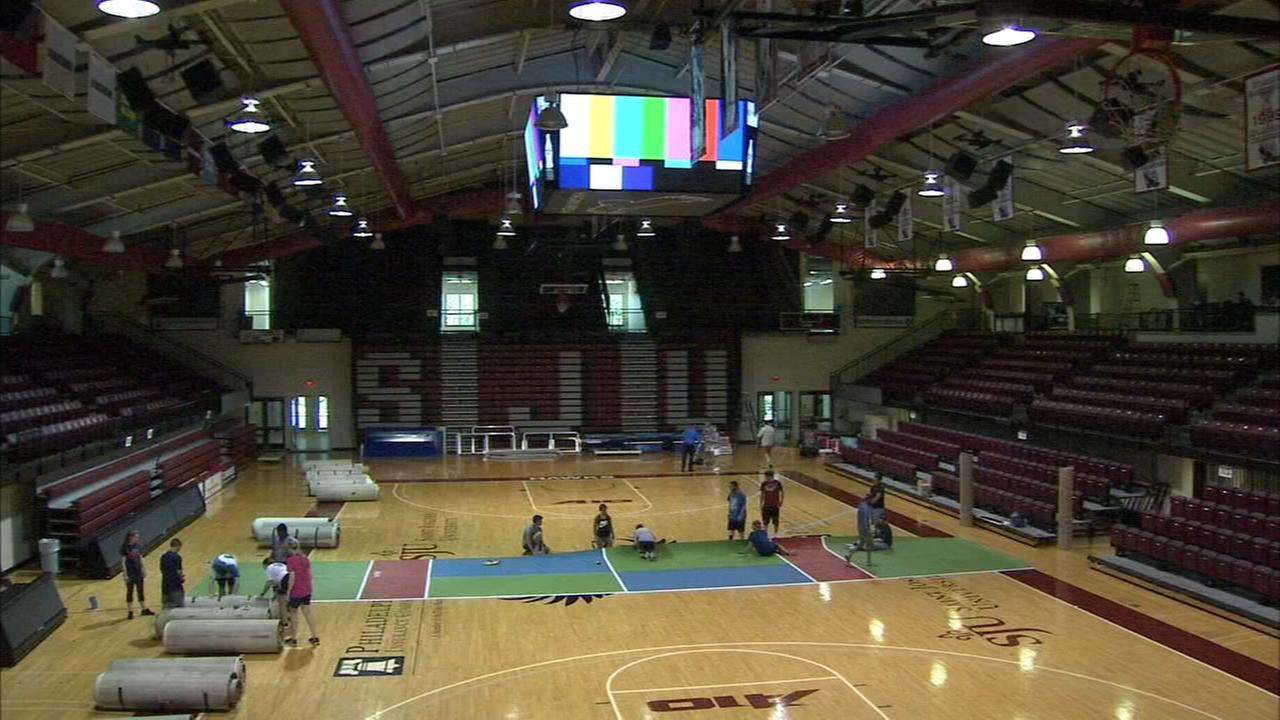 Philadelphia Freedom transformed Saint Josephs Universitys Hagan Arena