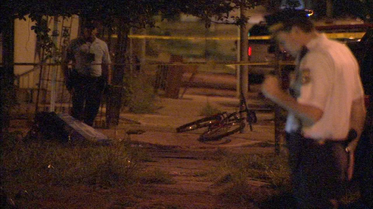 Man on mountain bike shot in North Philadelphia