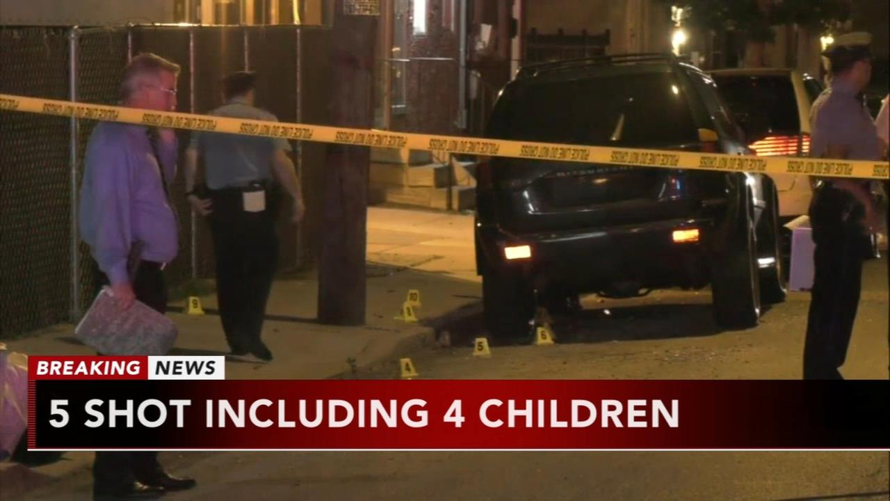 Boy dies, 4 others injured in North Philadelphia shooting