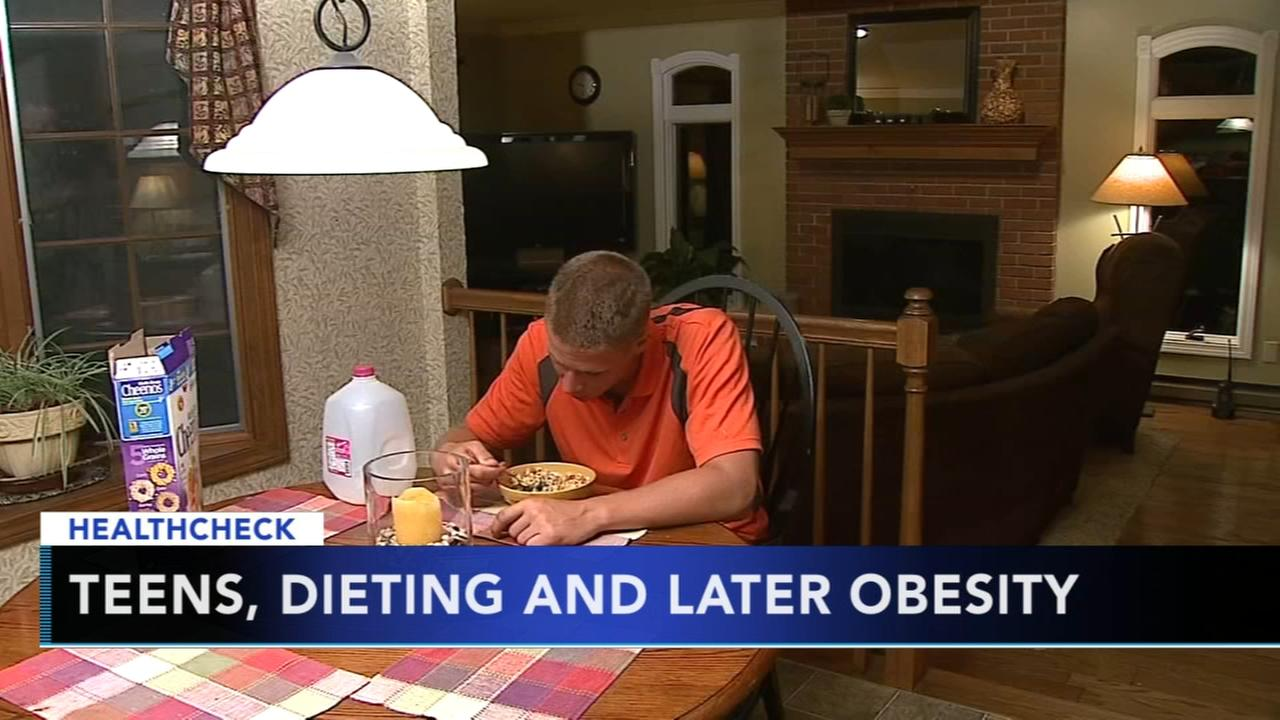 Teens, dieting and later obesity