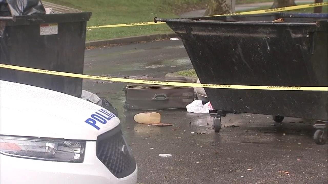Human skeletal remains found in suitcase in SW Philly