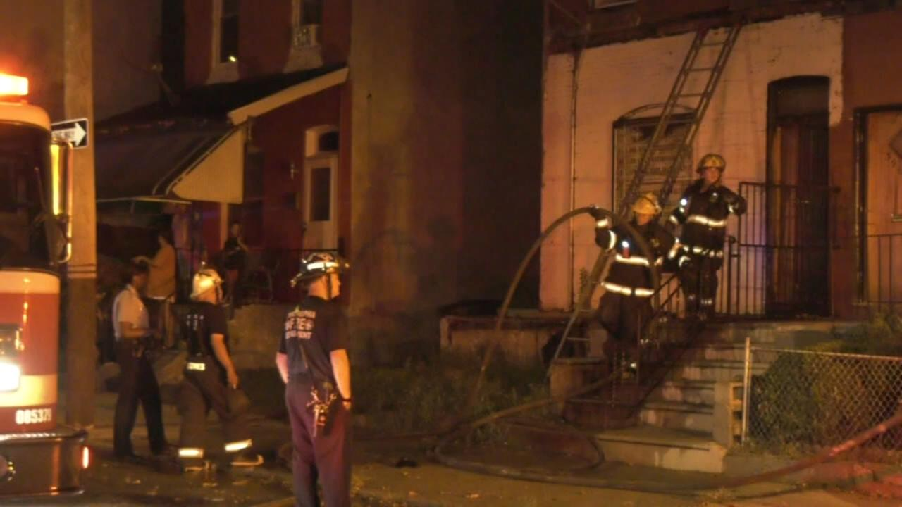 1 rescued from West Philadelphia fire