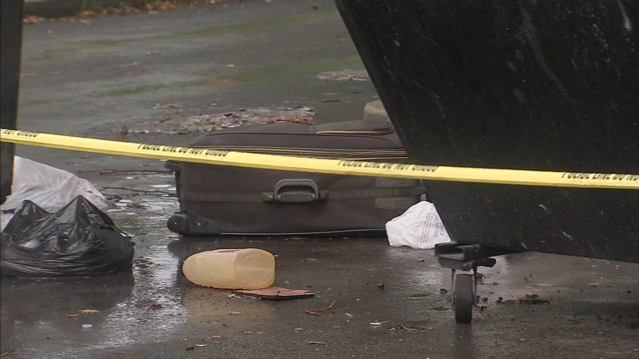 Dead body found in suitcase