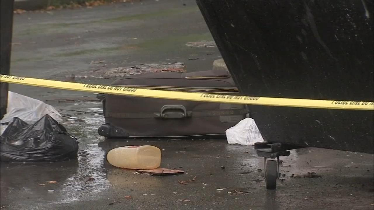 Human remains found in suitcase
