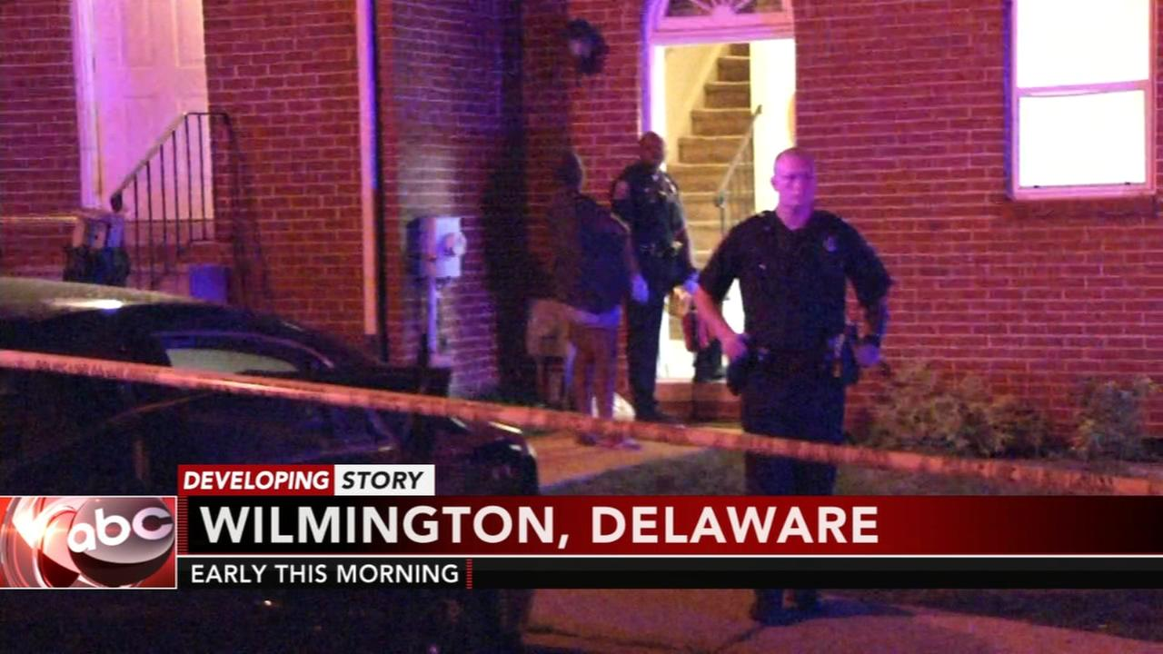Wilmington man shot outside home