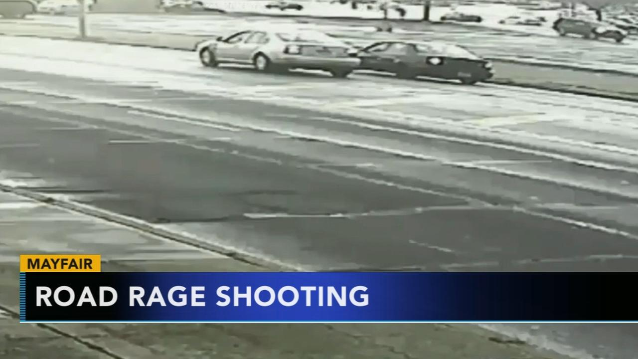 Video released from Mayfair road rage shooting