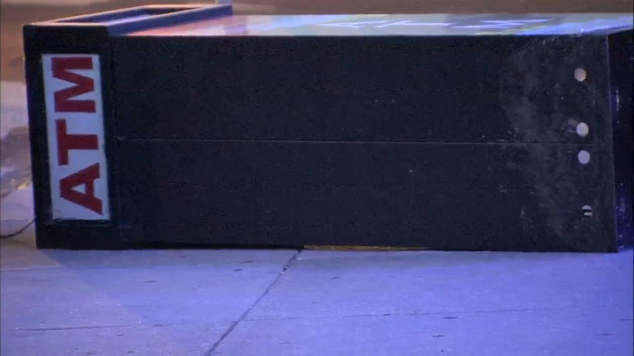 ATM left on sidewalk in Kensington theft