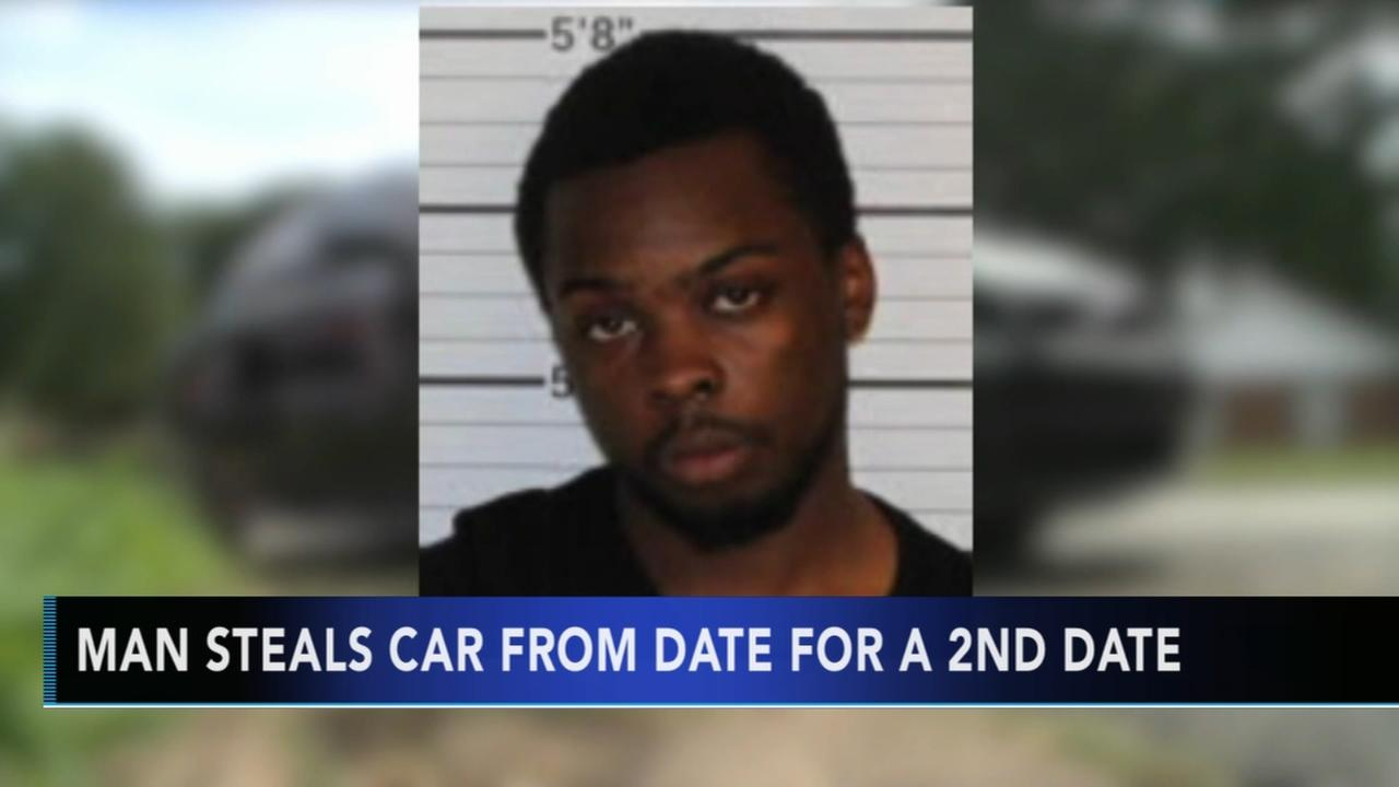 Police: Man steals car from date for 2nd date