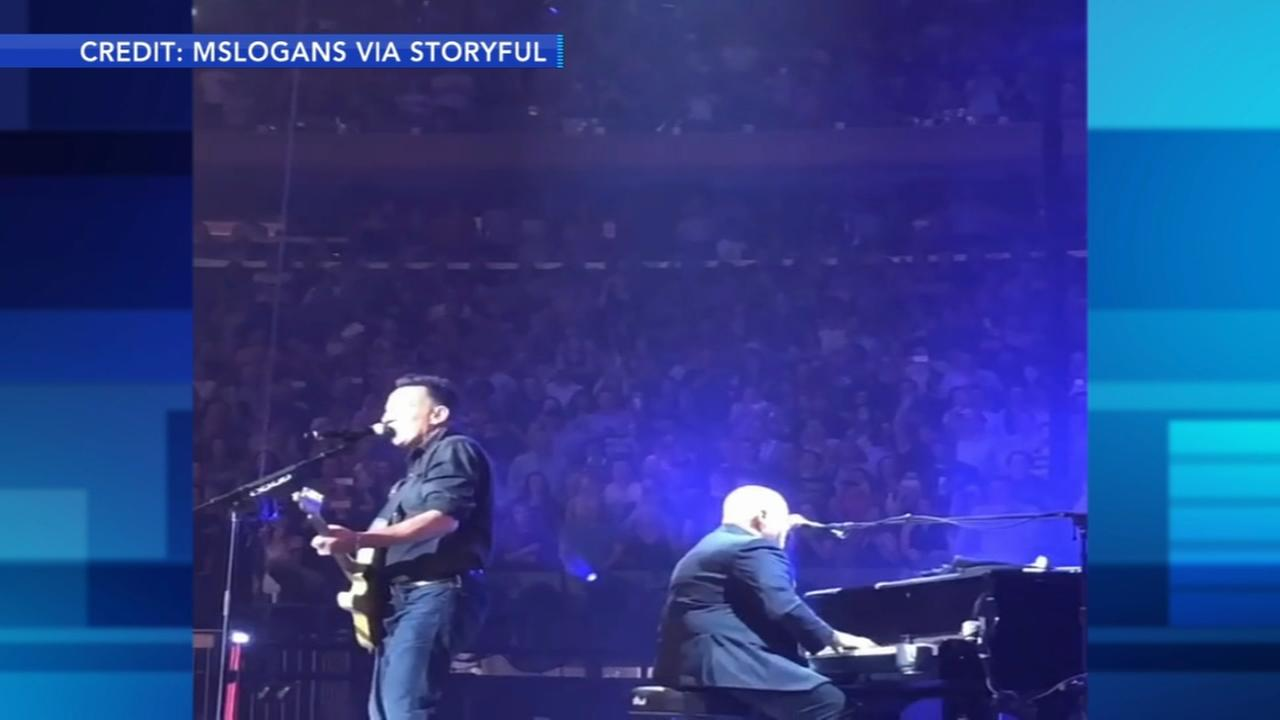Bruce Springsteen surprises audience at Billy Joel concert