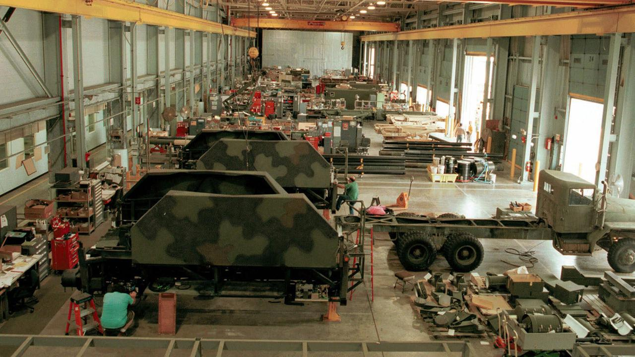 ** FILE ** Workers overhaul missile systems at the Letterkenny Army Depot in Chambersburg, Pa. in this Aug. 9, 1999 file photo.