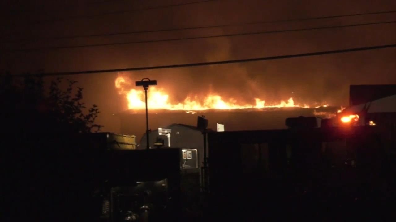Fire destroys Delaware County Catholic school