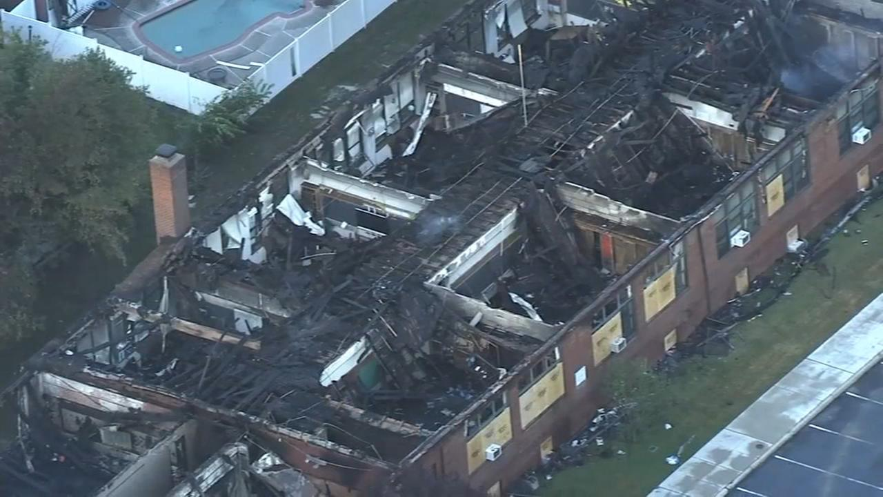 Fire destroys section of Delaware County Catholic school