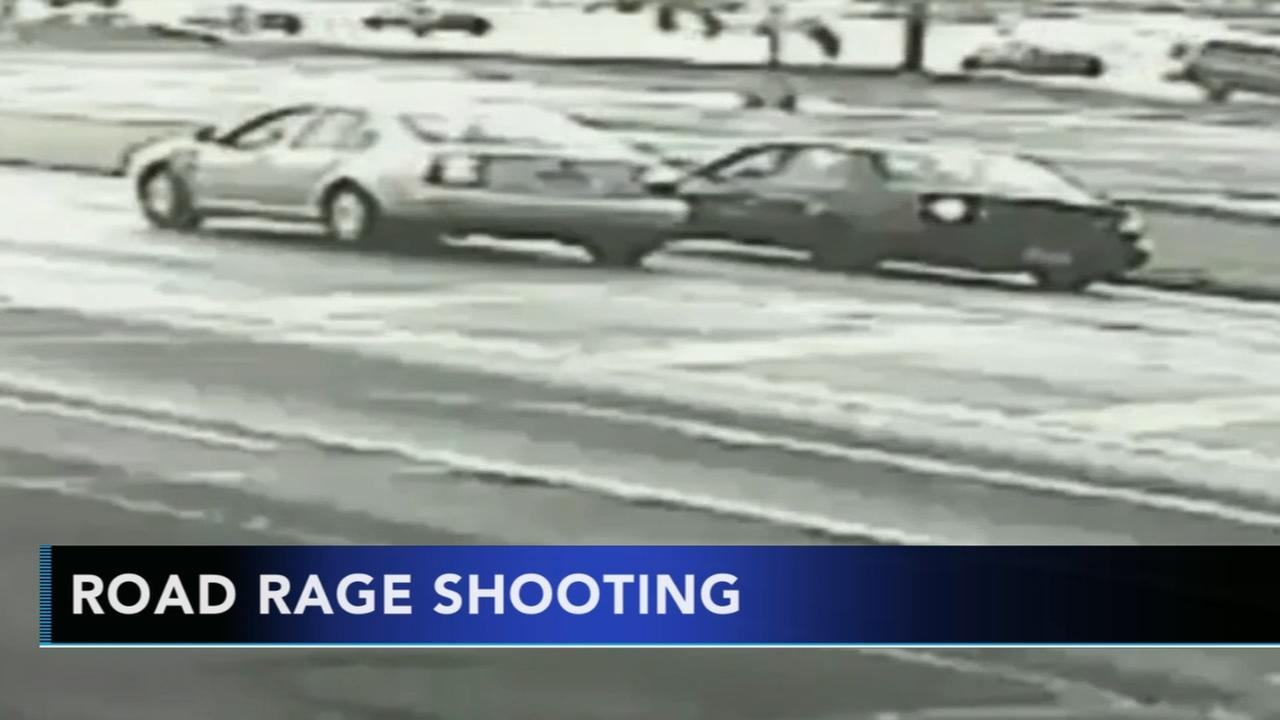Video released from Mayfair road rage shooting; witness shocked