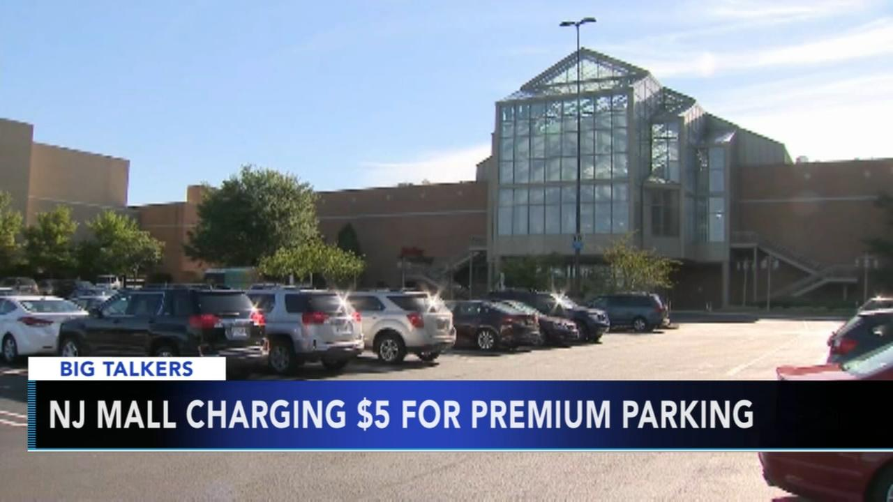 New Jersey mall to offer prime parking spots for a price