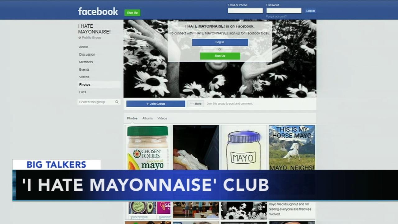 Facebook group offers safe space for those who hate mayonnaise