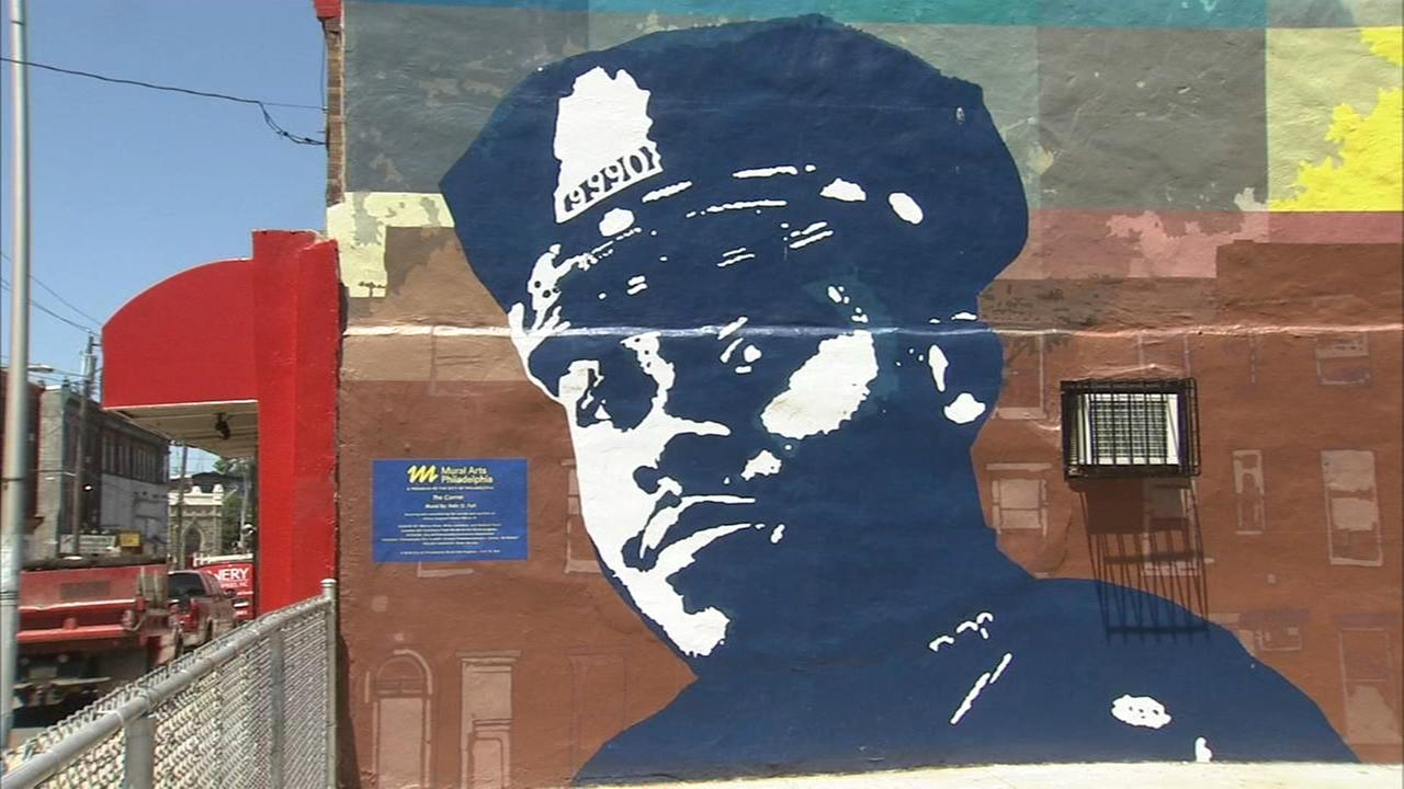 Mural honoring fallen Philadelphia police sergeant unveiled