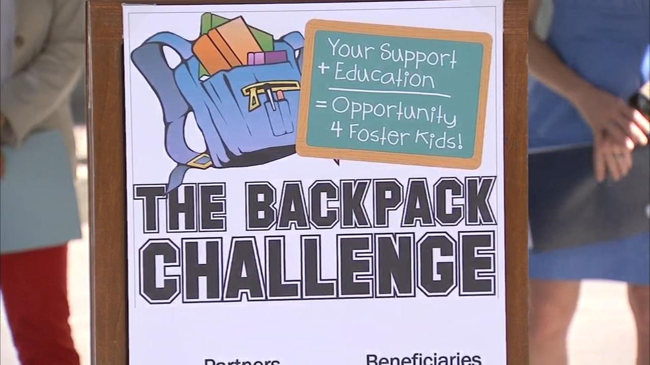 Some foster children will have new backpacks full of school supplies this year