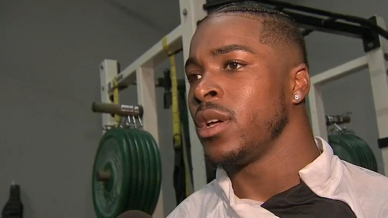 Philadelphia Eagles RB Corey Clement preps