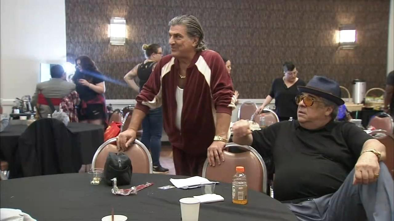 Wise guys come to Philadelphia for film shoot