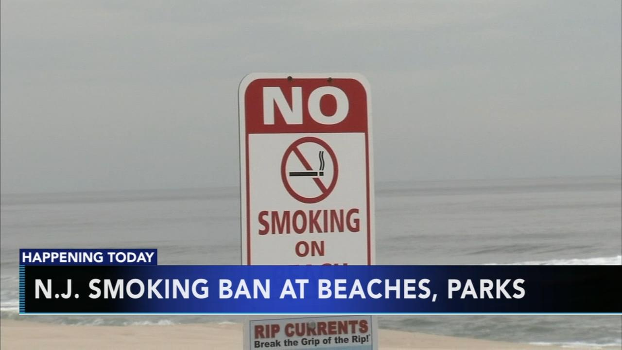 Governor to sign ban on smoking at public beaches, parks