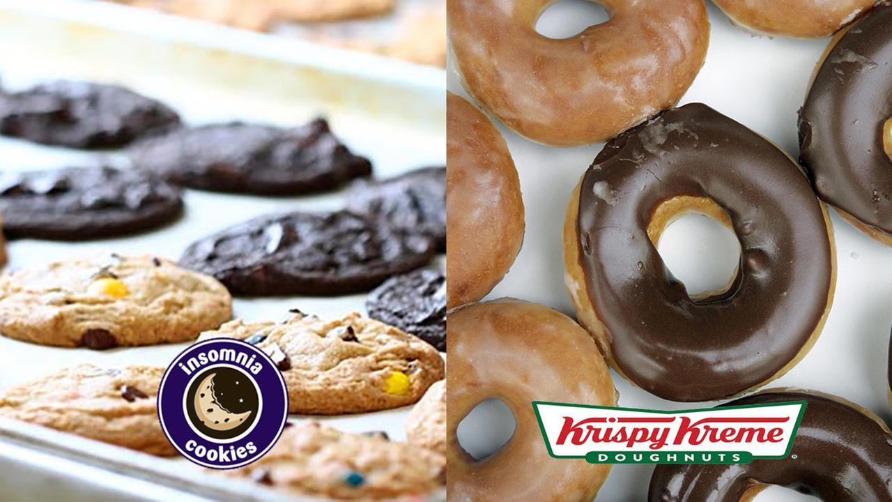 Krispy Kreme to buy Insomnia Cookies for undisclosed amount