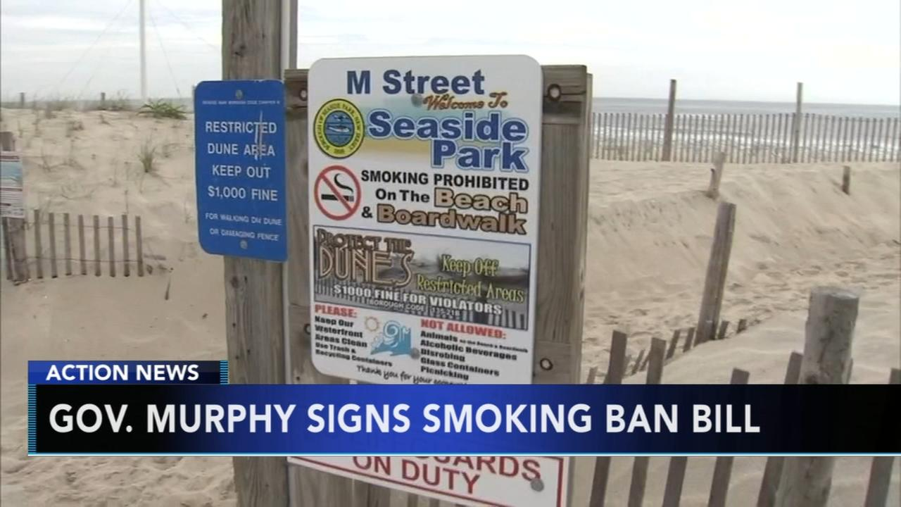 Gov. Murphy signs smoking ban