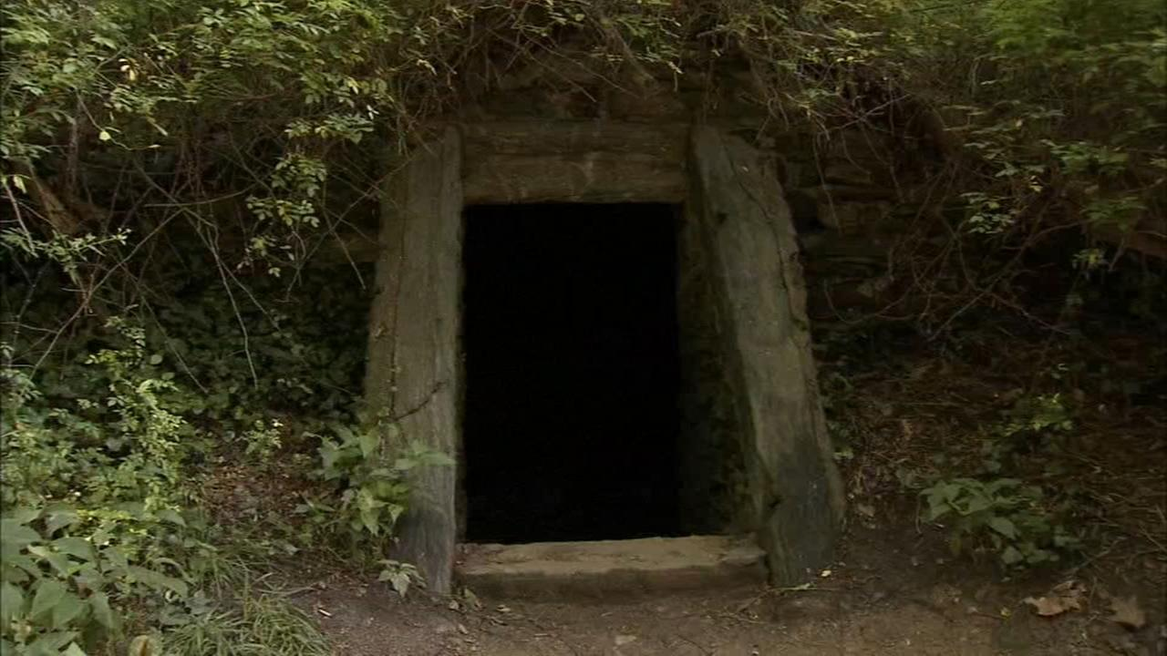 Historic, mystical cave tucked away in Wissahickon Trails