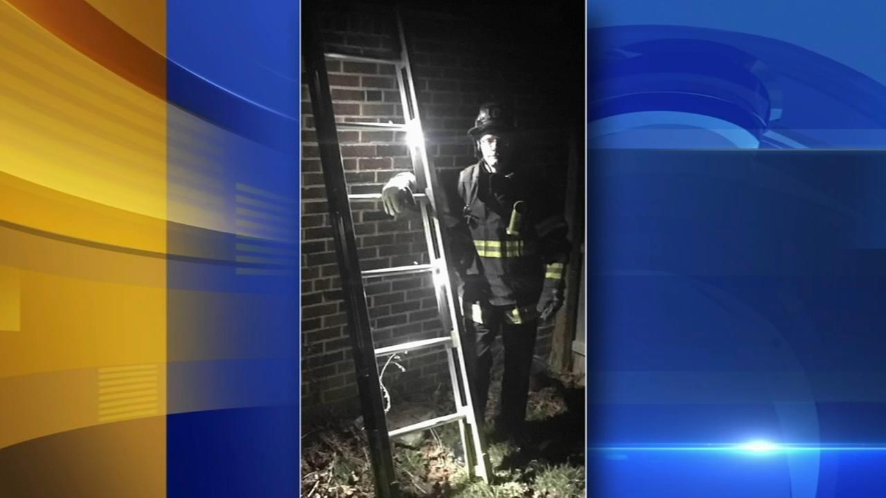Philadelphia firefighter launches campaign for LED ladders