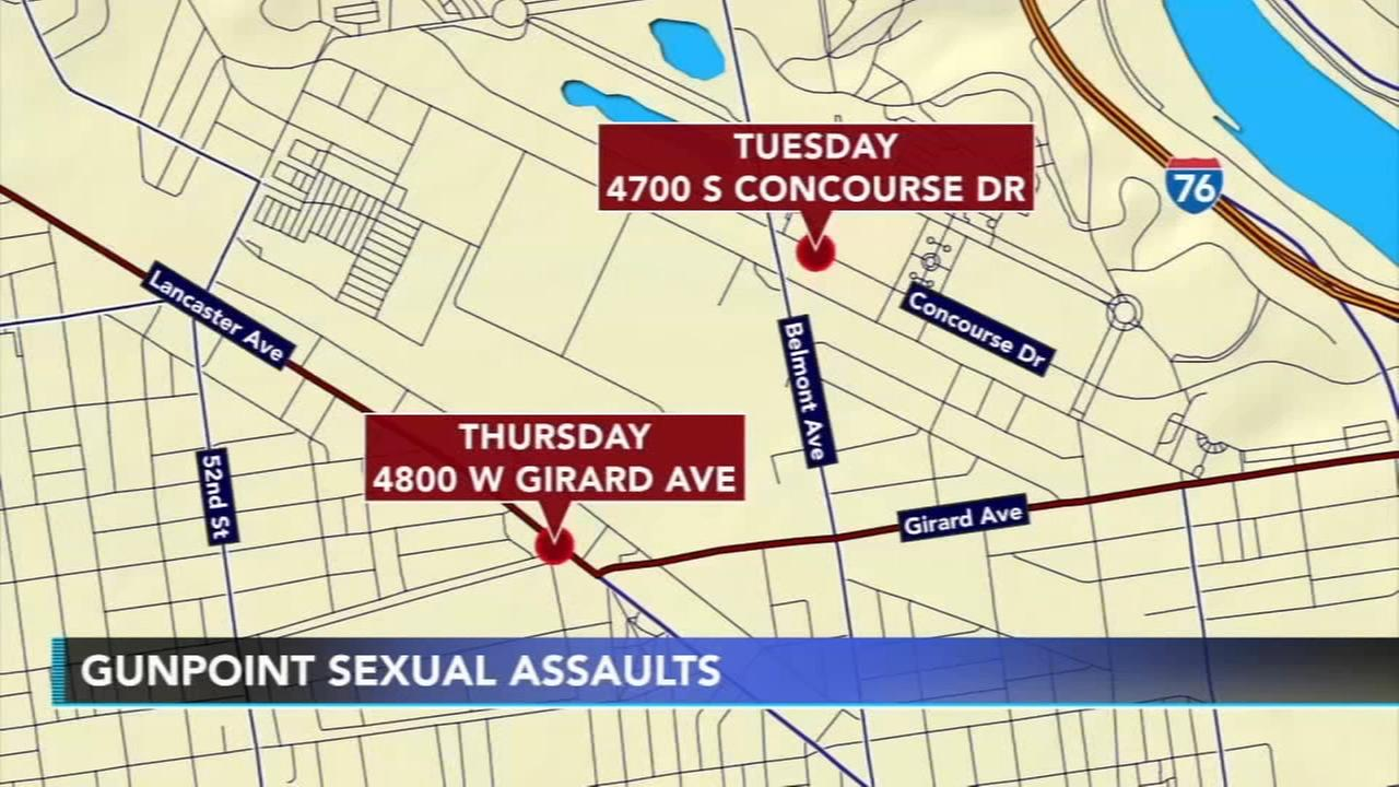 Police: Sexual predator sought for 3 gunpoint assaults in West Philadelphia