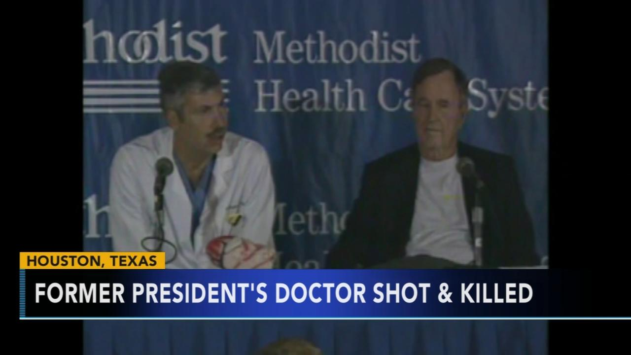 George H.W. Bushs former doctor shot and killed while riding bike