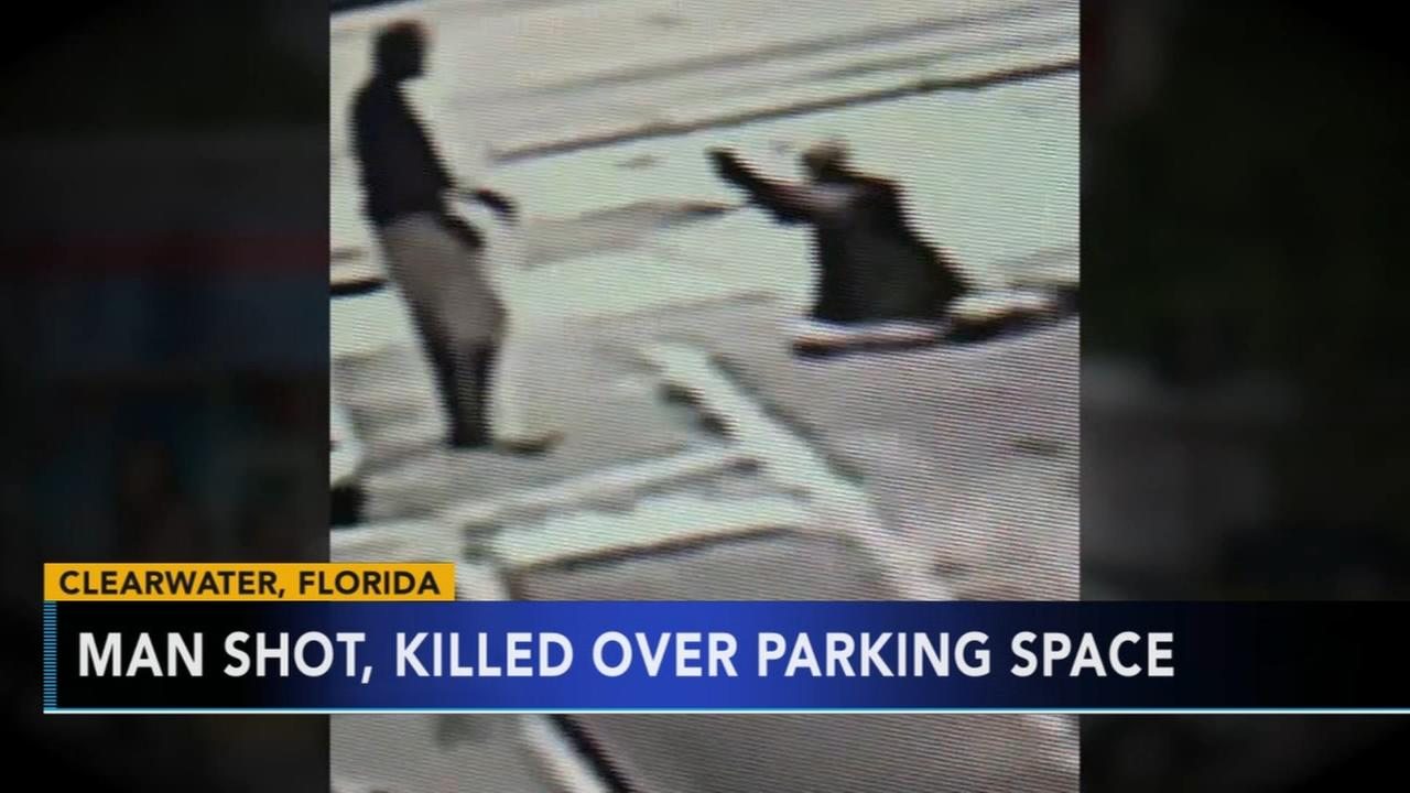 Florida man shot and killed over parking space