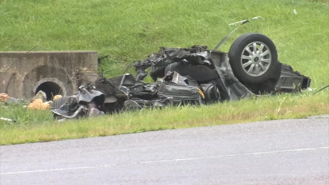 1 dead after car crashes and catches fire in East Whiteland Twp.