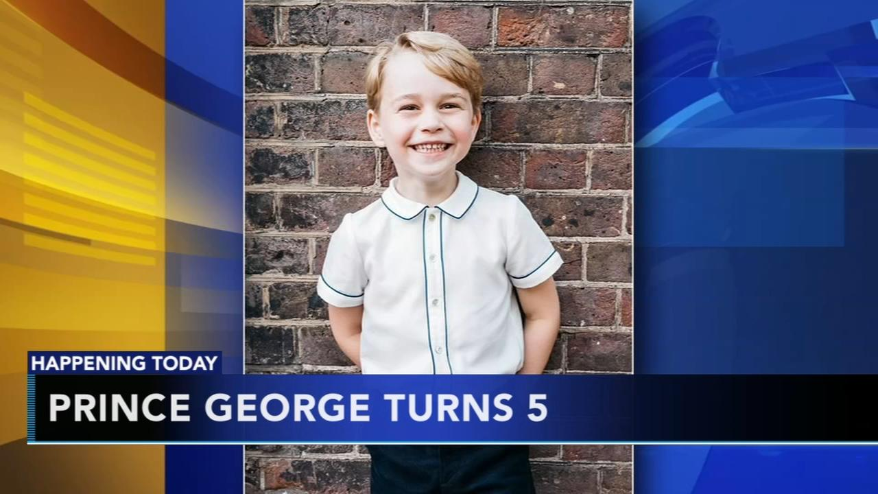 Prince George celebrates his 5th birthday