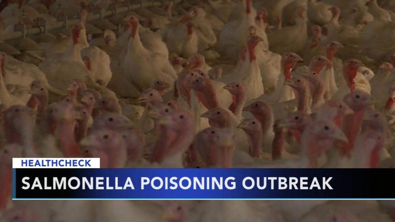Nationwide salmonella outbreak linked to raw turkey