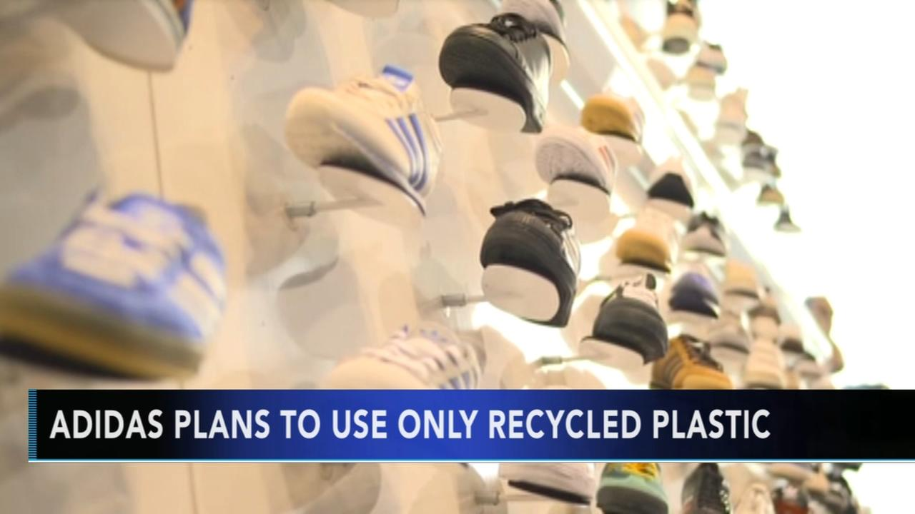 Adidas to use only recycled plastics by year 2024