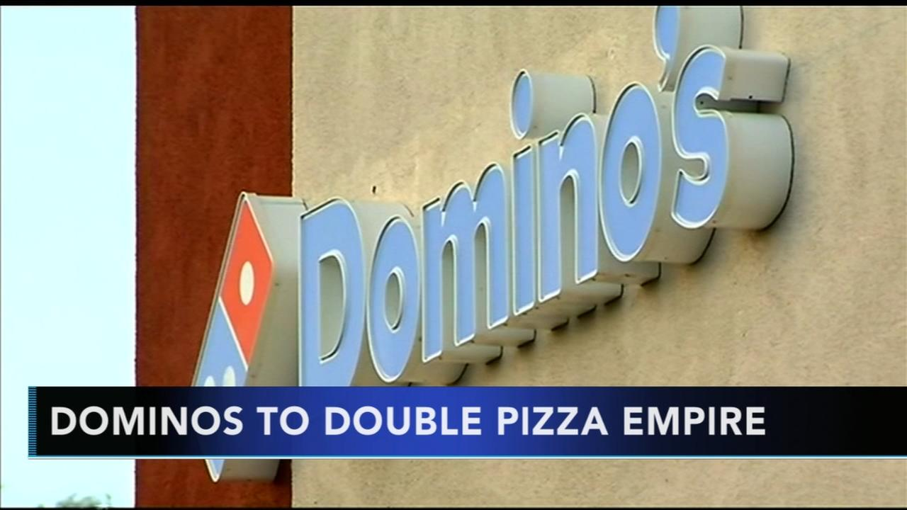 Dominos plans to double pizza empire