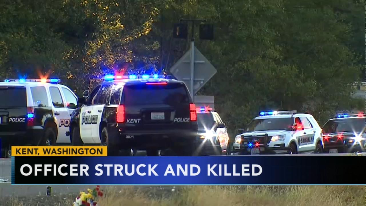Washington police officer struck and killed during police chase
