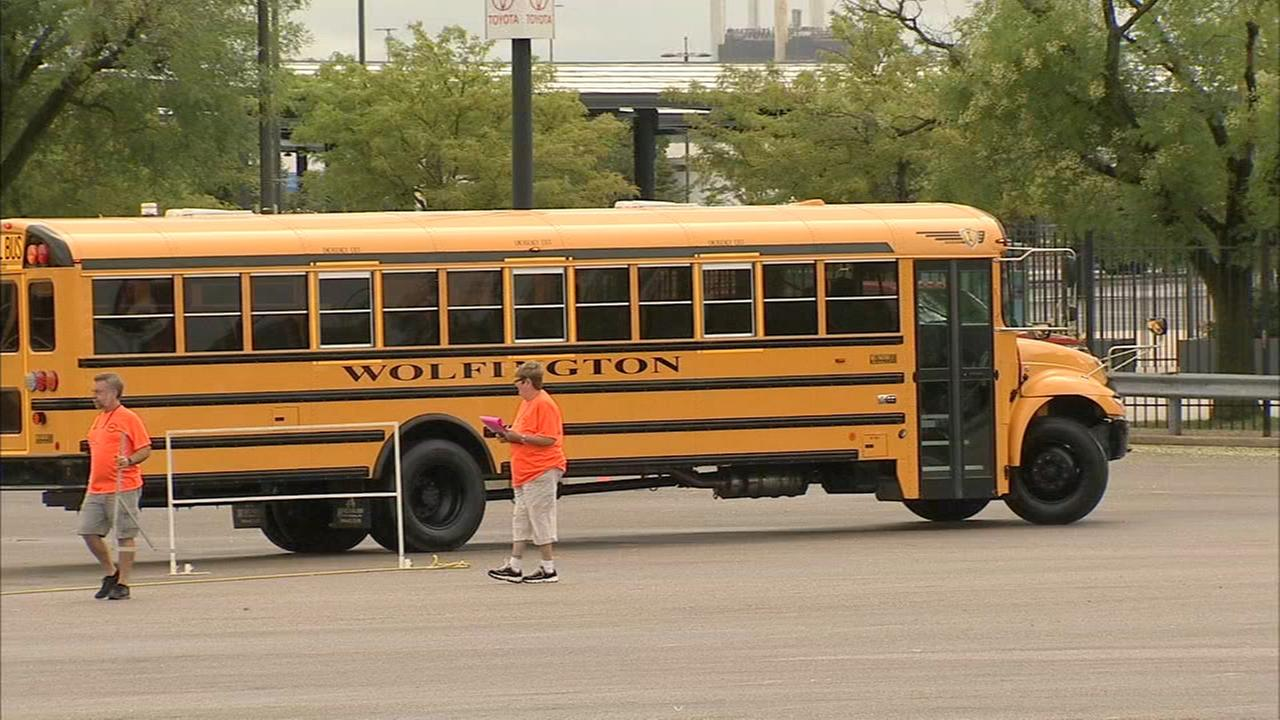 School Bus Driver International Safety Competition takes place in South Philadelphia