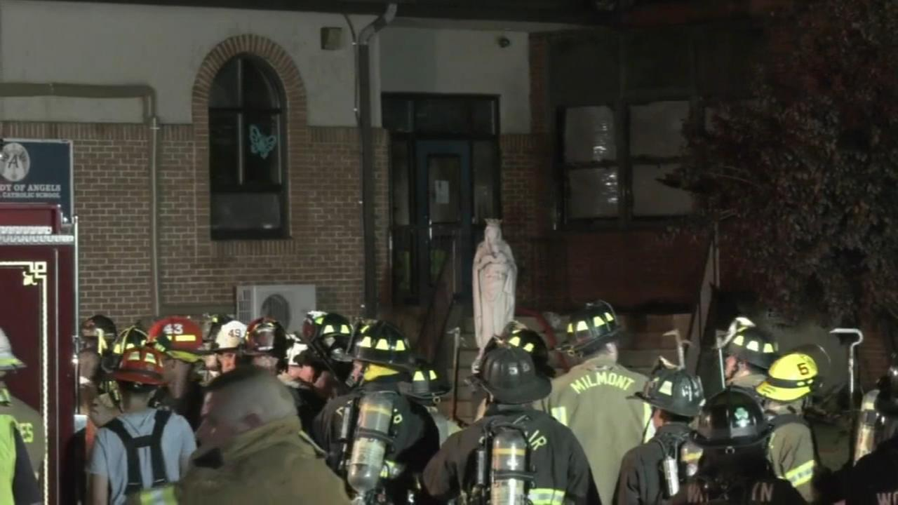 Mass held for Delco school devastated by fire