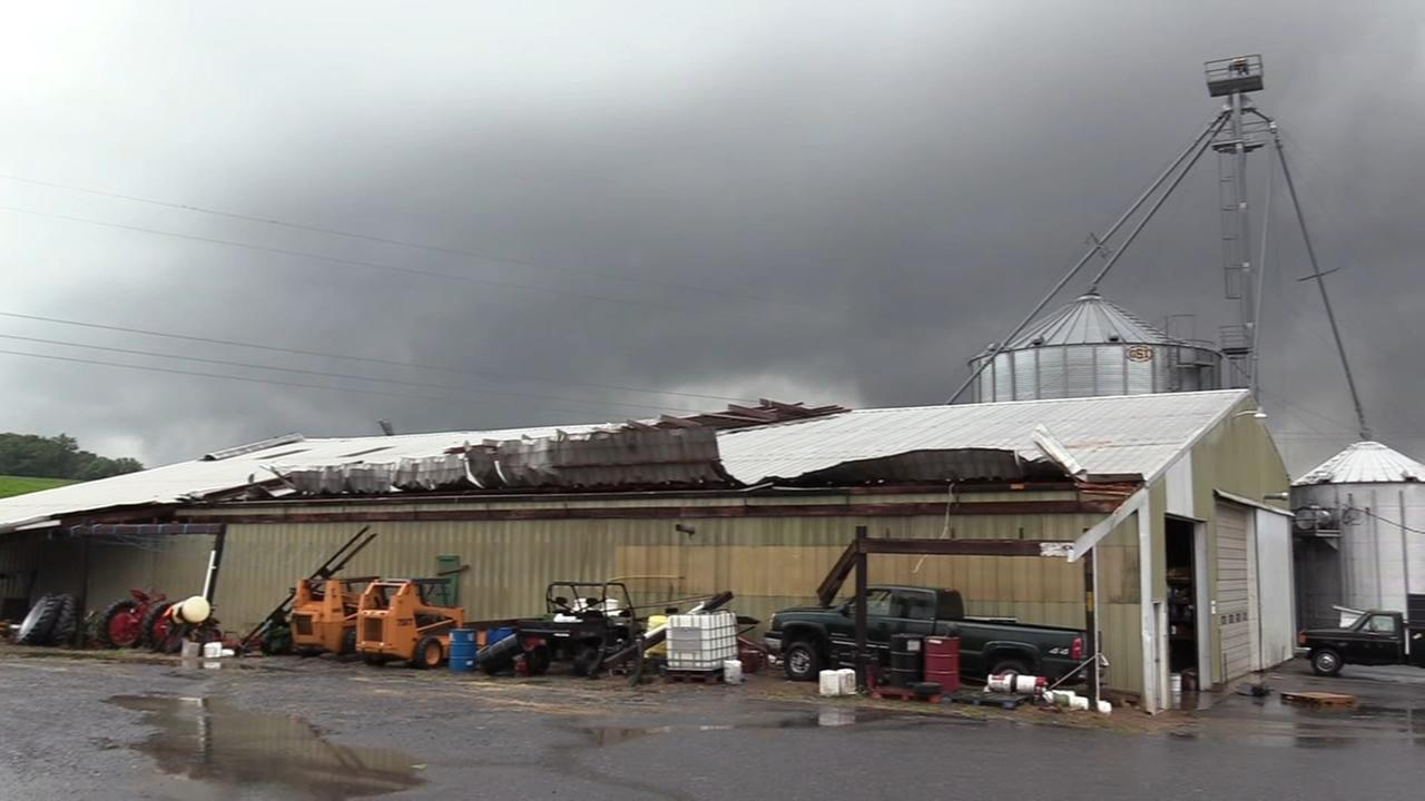 NWS to examine damage in Lehigh County
