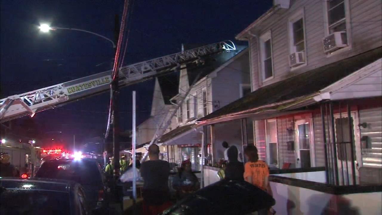 2 injured in Coatesville fire