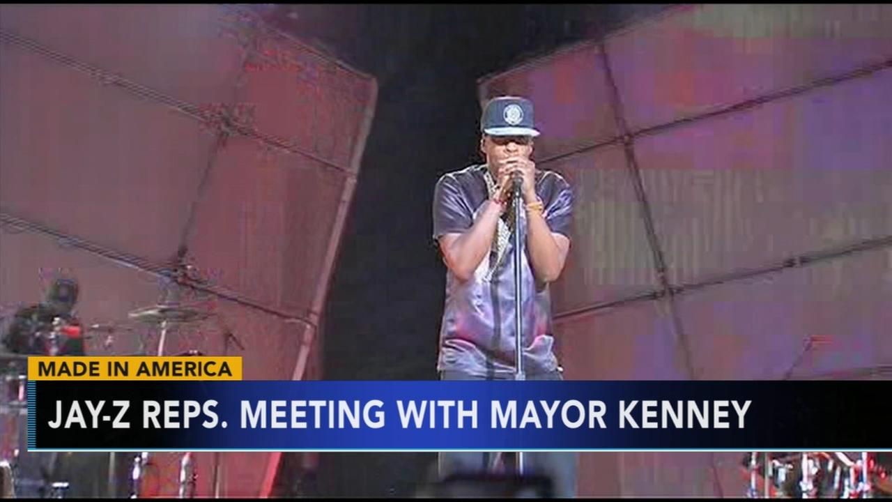 Mayor Jim Kenney to meet with Jay-Z reps over Made in America move