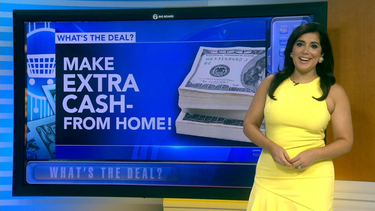 Whats the Deal: Make extra cash from home