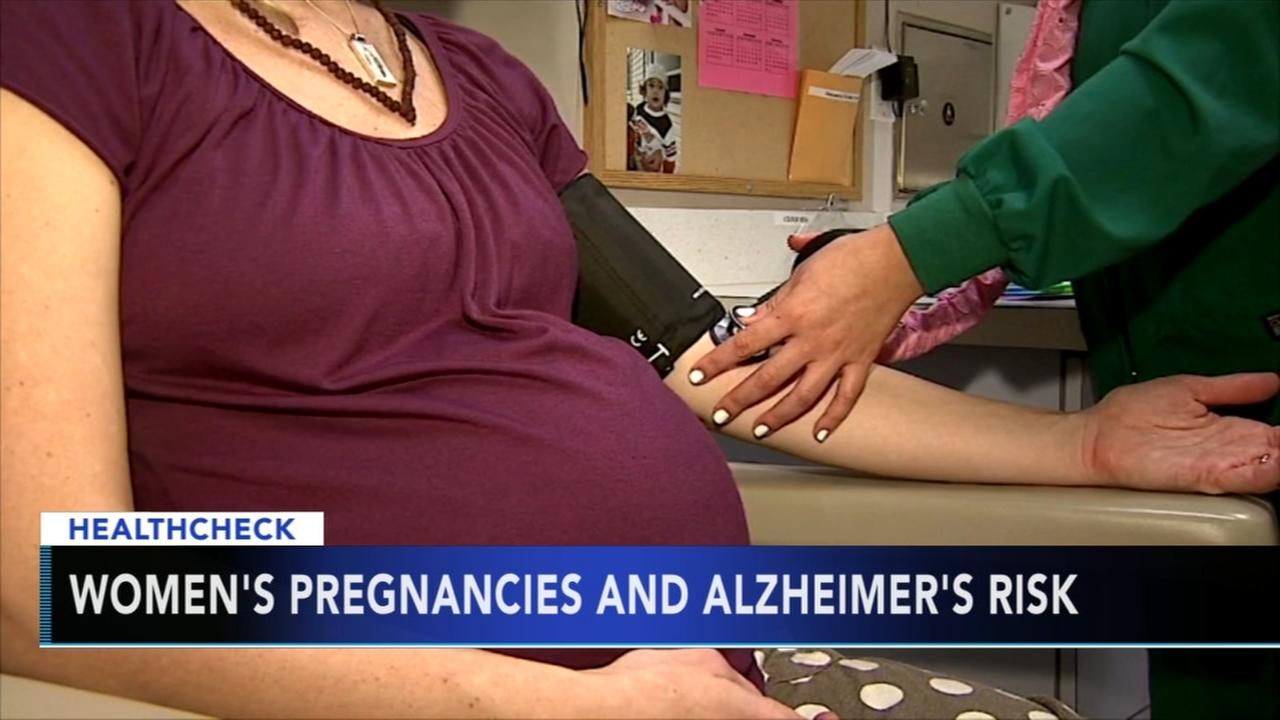 Study examines womens pregnancies and Alzheimers risk